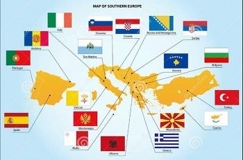 동유럽 지도 자세히 살펴보기 (발칸 반도 지도 및 남유럽 지도 포함)