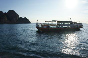 홍도 유람선