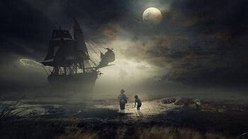 포토샵 합성 강좌 유령선 (Photoshop Manipulation Tutorial Ghost Ship)