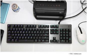 게이밍키보드 가격대비 좋은 10만원대 로지텍 G512 기계식키보드
