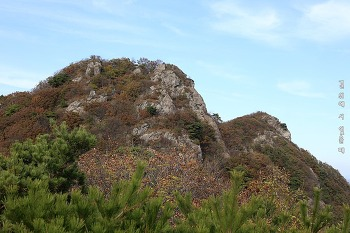 장성 불태산. 울퉁불퉁 바위능선 멋진 산