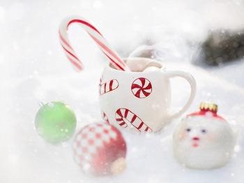노트북 배경화면  Hot Chocolate, Winter HD Wallpaper 무료 배경 이미지