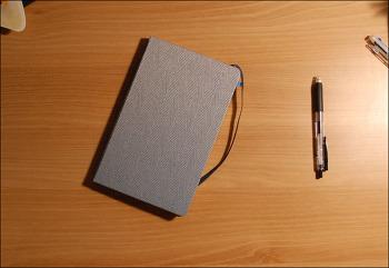 몰스킨 블렌드 룰드 노트북(Moleskine blend ruled notebook)