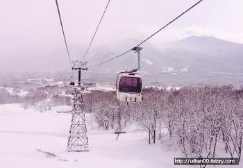 [일본여행] 일본 묘코고원 아카쿠라 관광리조트 스키장