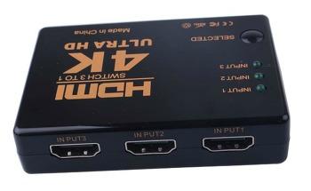 알리에서 찾은 물건 - HDMI Switcher (덤으로 한국에서 산 Splitter)