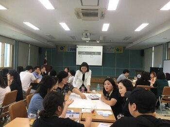제천교육지원청 학교급식 관계자·납품업체 간담회