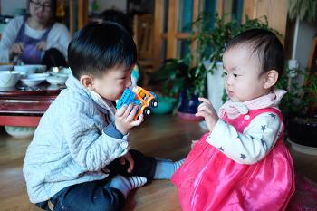 [유건] 구정연휴 유건이와 태린이