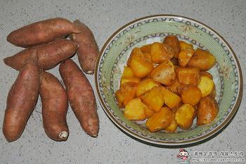 [롯데아이몰]과일천하 농협청과 호박고구마, 고구마맛탕 레시피