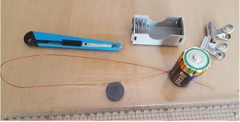 초간단 전동기(모터) 만들기 - 기존 간이전동기를 더 쉽게 만들기