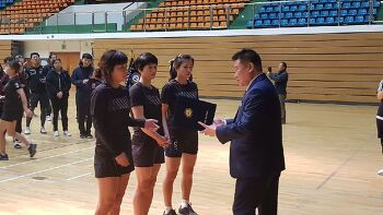 의림초 어머니부 제43회 제천시협회장기배구대회 우승!