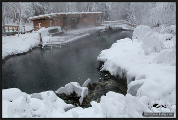 [캐나다 겨울 여행 ⑩] 캐나다 북부 로키 산맥 ; 리어드 리버 온천 주립공원