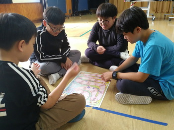한송초중 '놀이학교' 프로그램 운영