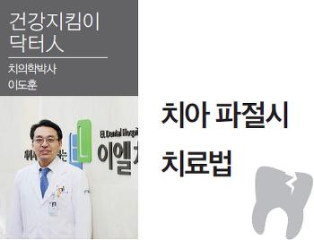 치아 파절시 치료법