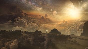 포토샵 합성 강좌 다크 플래닛 (Photoshop Manipulation Tutorial Dark Planet)