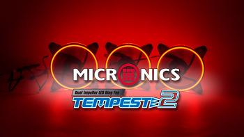 마이크로닉스 TEMPEST2 Ring Dual Impeller 120 쿨러