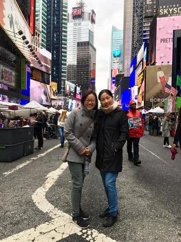 엄마와 딸 둘이서 뉴욕여행 2탄, Mid-Semester Break에 다녀온 지혜와 뉴욕여행 (10/9~13, 2018)