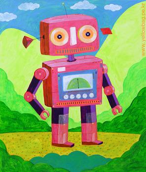 생각그림 장난감 로봇