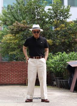 남자 패션 블로그 엣라코 atlast&co 치노팬츠 코디