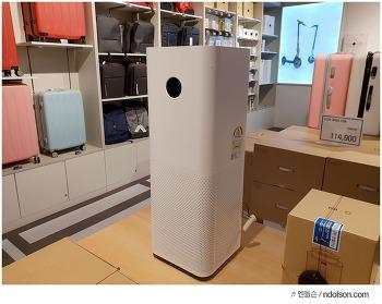 영등포 타임스퀘어 샤오미매장 가보니, 할인특가 샤오미 캐리어, 로봇청소기 가득!
