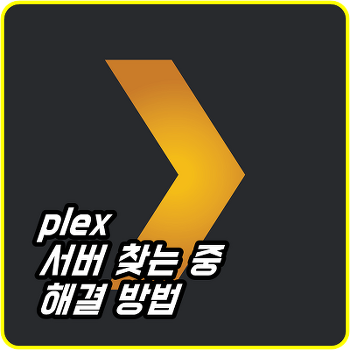 plex 서버 찾는 중 계속 돌아갈 때 해결 방법