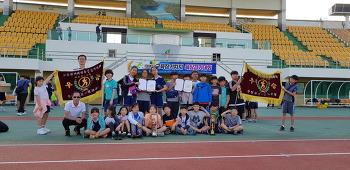 동명초 제35회 교육장기차지 육상대회 남초부, 여초부 우승