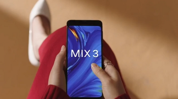 샤오미 - 슬라이드 팝업 방식의 미믹스3 티저 영상 공개