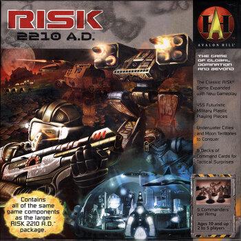RISK: 2210 AD 한글카드