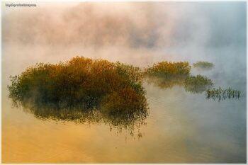 순천 상사댐의 가을 풍경