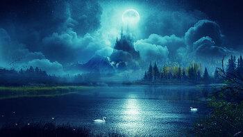 포토샵 합성 강좌 달빛 (Photoshop Manipulation Tutorial  Moonlight)