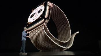 애플워치4 골드의 디자인에 반하다