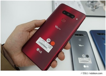 LG V40 ThinQ 사전예약, LG 제조사 V40 사은품, 기프트팩 기대해
