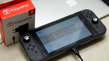 겜맥 - 닌텐도 스위치용 USB-PD 고속 충전기 리뷰