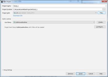 Kotlin - Kotlin on JVM (the IntelliJ IDEA Community Edition for Windows)
