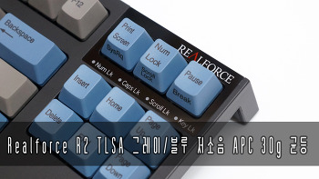 Realforce R2 TLSA 저소음 APC 30g 균등
