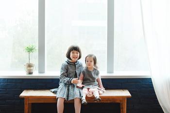 [대전주니어 우정사진] 사랑스러운 두 자매촬영