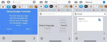 구글 번역 키보드 지보드(Gboard) iOS 번역 기능 업데이트