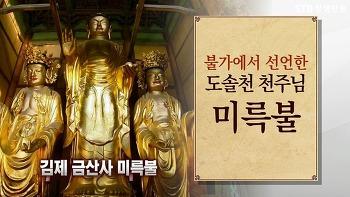 새 세상 새 부처님 미륵불(미륵부처님)의 용화세계