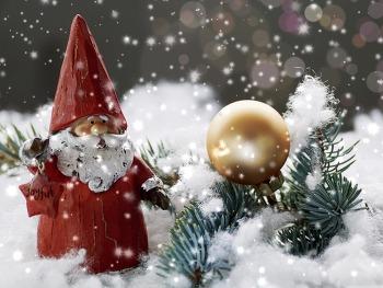 바탕화면 사이트 Christmas Santa Claus Decoration HD Wallpaper  무료 배경 이미지
