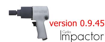 cpp:160 오류를 패치한 0.9.45버전 Cydia Impactor 업데이트