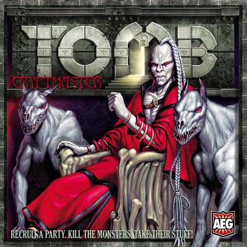 Tomb - Cryptmaster 한글 요약 룰북 및 카드 한글화