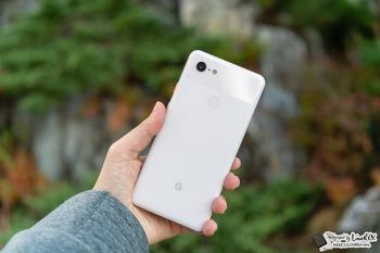 구글 픽셀3 XL 첫인상 후기, 정발 안되는게 아쉽다