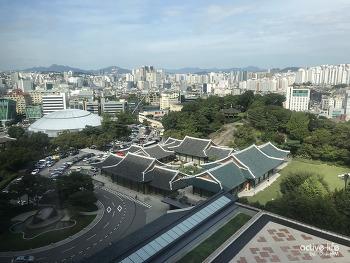 서울신라호텔야외수영장 어반아일랜드! 더라이브러리에서 재즈감상, 망고빙수, 막바지호캉스