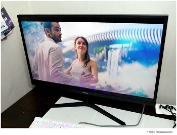 영화보기 좋은 UHD 삼성전자 32인치 모니터 추천