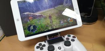 윈도우태블릿으로 즐기는 PS4 리모트 플레이 사용기..