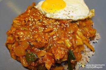 한그릇이면 충분한 혼밥요리 '고추참치덮밥 만들기'