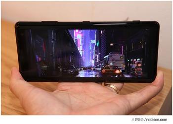 소니 엑스페리아XZ3 후기, 놀라운 진동바이브레이션 디스플레이