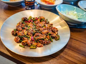 양주 고읍지구 강촌식당의 꼬막비빔밥