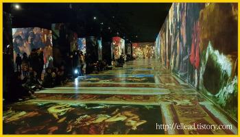<제주도 가볼만한 곳> 빛의 벙커 : 클림트 (Gustav Klimpt)