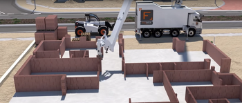 스마트시티, 건설 로봇이 짓고 물류 로봇이 배달한다
