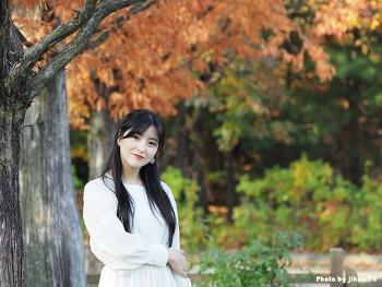 [시선] 모델 출사와 함께 한 가을 놀이공원, 핑크빛 추억 여행